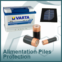 ALIMENTATIONS PILES PROTECTION