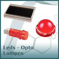 LEDS OPTOS LAMPES BUZZERS