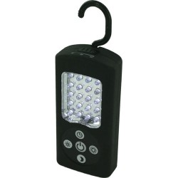 LAMPE CAMPING RECT. A SUSPENDRE 21 LEDS